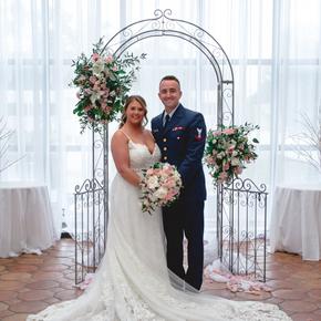 Military wedding photos at Doolan's Shore Club ABSB-16