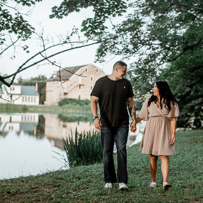 Our Top NJ Engagement Photographers at Galloping Hill Golf Course NRTB-10